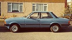 1982 Ford Cortina Mark V in the Crusader version