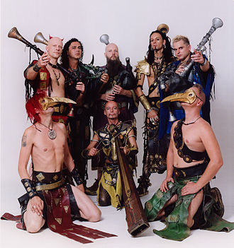 Corvus Corax (band) - Image: Corvus Corax German Band