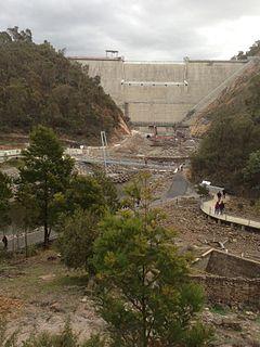 Cotter Dam Dam in Australia
