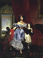 Countess Samoilova with Giovanina Pacini by K.Brullov (1832-4, Hillwood).jpg