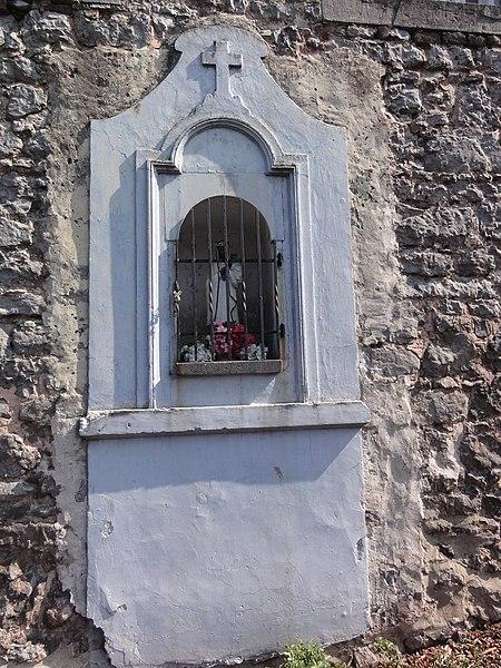 Cousolre (Nord, Fr) chapelle Notre Dame de Walcourt (oratoire)