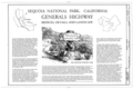 Cover Sheet - Generals Highway, Three Rivers, Tulare County, CA HAER CAL,54-THRIV.V,2- (sheet 1 of 10).png