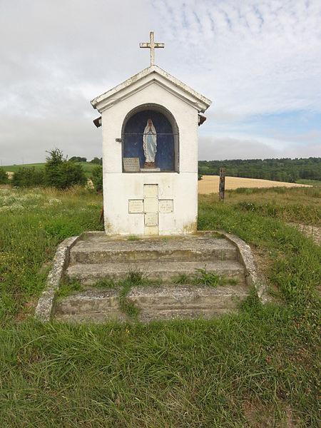 Craonne (Aisne) oratoire, mémorial de guerre