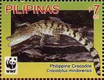 Crocodylus mindorensis 2011 stamp of the Philippines 2.jpg