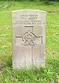 Croft (William Leslie) CWGC gravestone, Flaybrick Memorial Gardens.jpg
