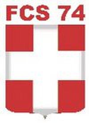 Thonon Évian Savoie F. C. - The badge of Football Croix-de-Savoie 74, the original club
