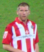 Richard Cresswell in his Sheffield United kit