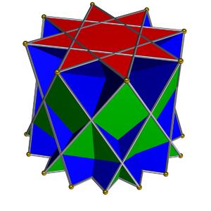 Octagrammic cupola - Image: Crossed octagrammic cupola