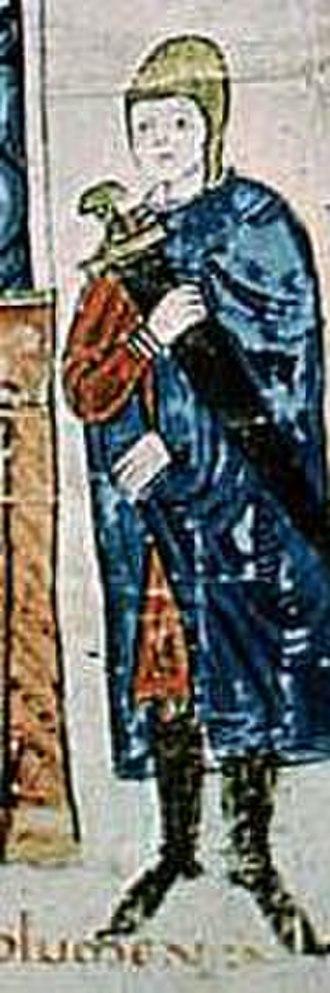 Crusade of 1101 -   Lombard-Tuscan man-at-arms from c. 1100,Vita Mathildis.