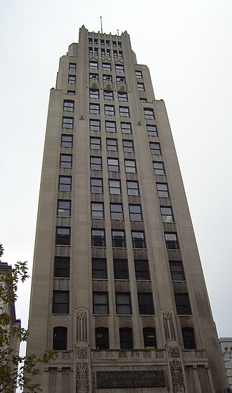 Metropolitan Tower (Youngstown) - Image: Ctl Tower