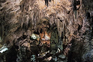 Caves of Nerja - cave interior
