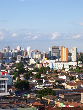 Vista do Centro de Cuiabá
