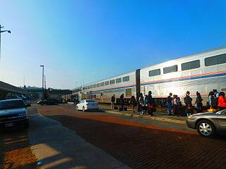 Cumberland station (Maryland) Amtrak rail station in Cumberland, Maryland, United States