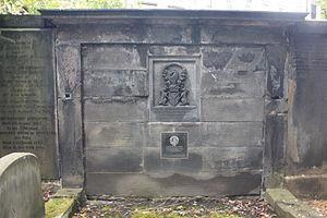 John Cunningham, 15th Earl of Glencairn - Cunningham monument, St Cuthberts, Edinburgh