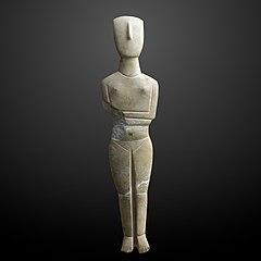 Cycladic idole-MAHG 006149