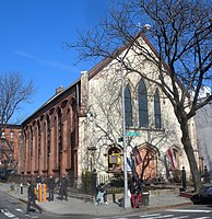La cattedrale di san Cirillo a Brooklyn