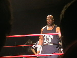 D-Von Dudley - Devon at a house show in Dublin in January 2009.