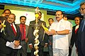 D.V. Sadananda Gowda lighting the lamp to inaugurate the Lawyer's Meet 2015, organised by the Bar Council of India in association with Bar Council of Tamil Nadu and Puducherry, in Chennai on July 25, 2015.jpg