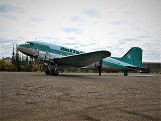 Buffalo Airways Airline based in Yellowknife, Northwest Territories, Canada