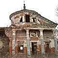 DP2M4191 The Ruins of the Church of the Sign in Teploe (Церковь Знаменская в Теплом). 1797. Ruins of the south four-column portico. (23738815089).jpg