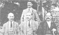 Dafo Danailov (lyavo) Trayan Lakavishki (prav).JPG