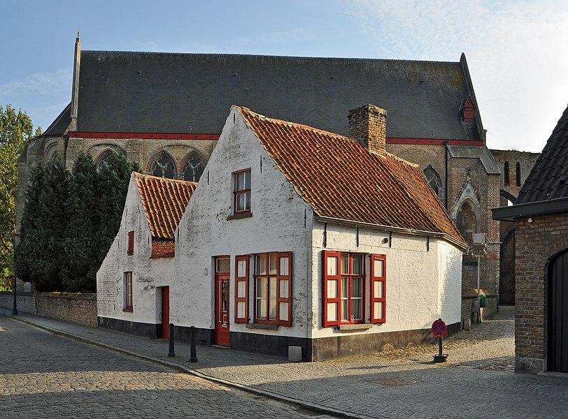 Damme (Belgium): house Kerkstraat #37