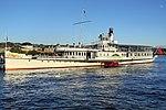 Dampfschiff Stadt Rapperswil - Zürichsee - Bürkliplatz 2012-08-27 19-14-30 (P7000).JPG