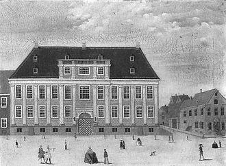Thott Mansion - The Danneskjolds  Mansion in 1749