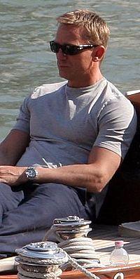 Daniel Craig em Veneza em 2006.