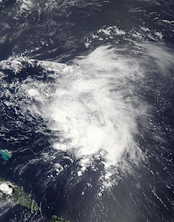 Tropical Storm Danny (2009) Atlantic tropical storm in 2009