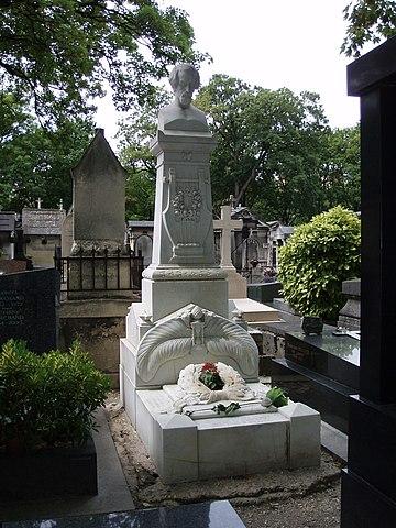 Могила в Париже