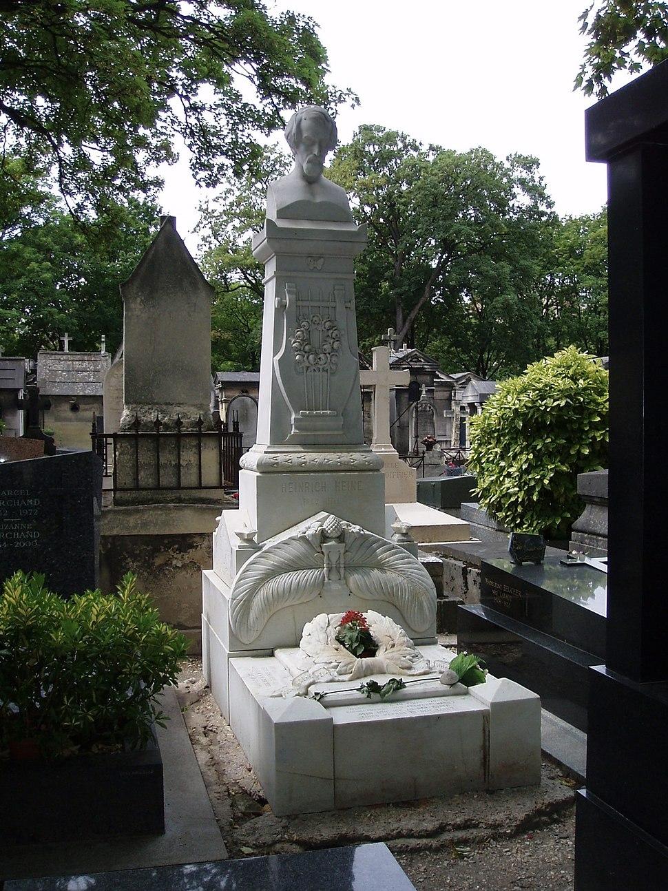 Das Grab Heines