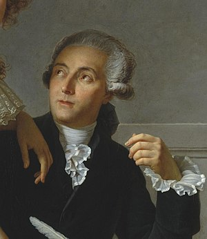 "Antoine-Laurent de Lavoisier is considered the ""Father of Modern Chemistry"". David - Portrait of Monsieur Lavoisier (cropped).jpg"
