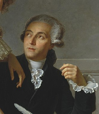 "Antoine Lavoisier (1743-94) is considered the ""Father of Modern Chemistry"". David - Portrait of Monsieur Lavoisier (cropped).jpg"