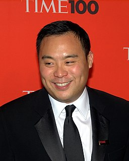 David Chang American chef and TV personality