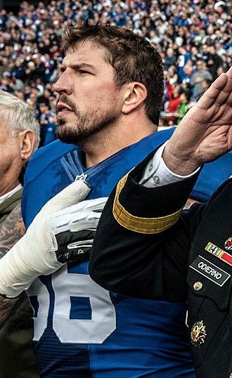David Diehl - Diehl with the New York Giants in 2013