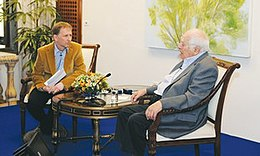 David Horovitz interviews Bernard Lewis.jpg