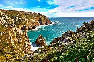 Cabo da Roca - Day picture of the shoreline at Cabo de Roca