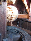 de onderneming (vierhuizen) spurwheel and sack hoist
