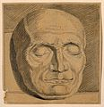 Death mask of Jean Conradin Heidegger, Bürgermeister of Zuri Wellcome V0009112.jpg