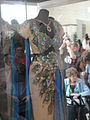"""Debbie Reynolds Auction - Hedy Lamarr """"Delilah"""" peacock gown from """"Samson and Delilah"""" (5851597177).jpg"""