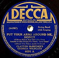 Decca 6091 A - PutYourArmsAroundMeHoney.jpg