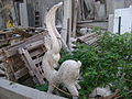 Decorative plaster ram in Argostoli.JPG