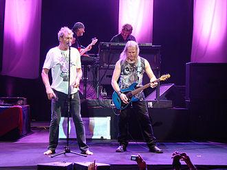 Ian Gillan - Ian Gillan with Deep Purple bandmates Roger Glover, Don Airey and Steve Morse