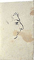 Dehodencq A. - Ink - Etude de profil masculin - 3,8x6,4cm.jpg