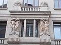 Department store. SE. Reliefs (L) - 1-3., Váci Street, Budapest.JPG