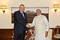 Deputy Chairman of the Government of the Russian Federation meets PM Modi.jpg