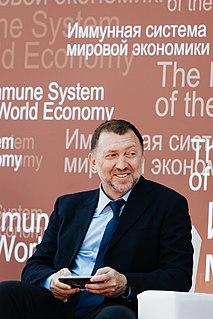 Oleg Deripaska Russian businessman (born 1968)
