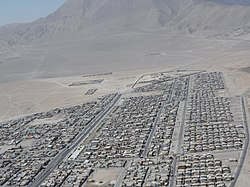 Panoramic view of Alto Hospicio