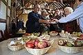 Dessert apple tasting, Hellens, Much Marcle - geograph.org.uk - 1529186.jpg